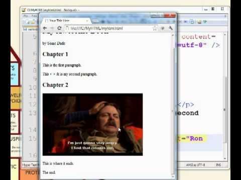 Learning HTML for eBooks