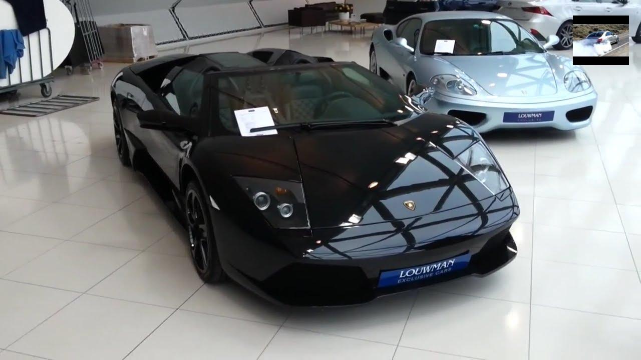Lamborghini Murcielago 6 5 V12 Roadster In Depth Tour Interior