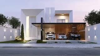 modernas casas fachadas para