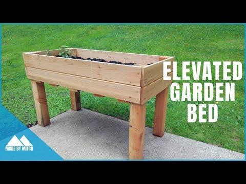 DIY Elevated Garden Bed