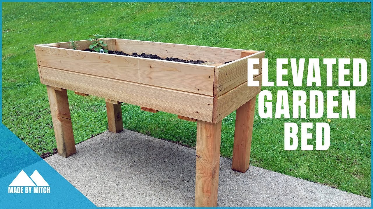 DIY Elevated Garden Bed on raised desk designs, raised garden box designs, raised garden lighting, raised wood designs, raised garden planter designs, raised garden trellis designs, raised garden accessories, raised garden bed designs, raised fireplace designs,