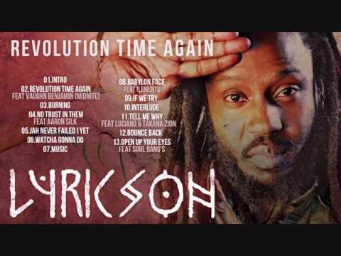 Lyricson - revolution time again Full Album