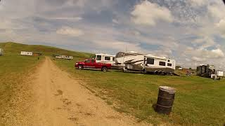 Tour a ghost town campground (Sturgis 2019)