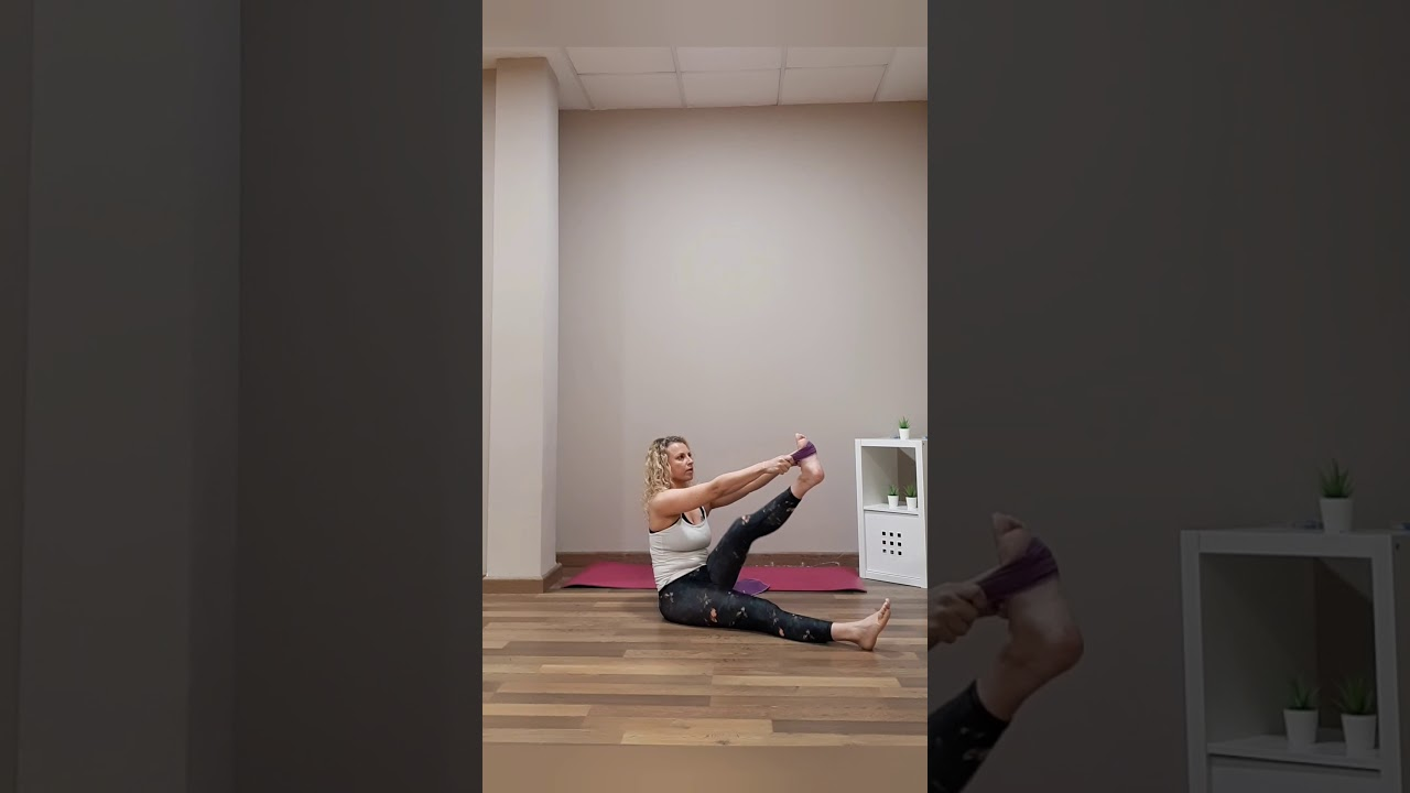 Great stretches using a cloth