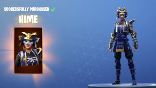 "Fortnite: How To Get ""HIME"" Skin for FREE! - PRAISE THE TOMATO Emote! (Fortnite Daily Item Shop)"