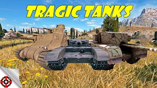 World of Tanks | TRAGIC TANKS - Good Games! (WoT gameplay)
