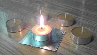 2,5+ hours burning time Beeswax Tealight Candles,,, made by myself especially for you :)