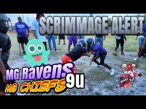 Download Scrimmage Alert - 9u Rivals Miami Gardens Ravens vs Miami Gardens Chiefs intra squad practice