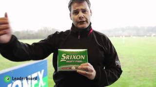 Graham's Review of the Srixon Soft Feel Golf Ball