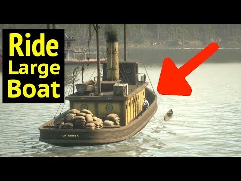 Ride Large Ship in Red Dead Redemption 2 (RDR2): Where Does La Gansa Boat Go?