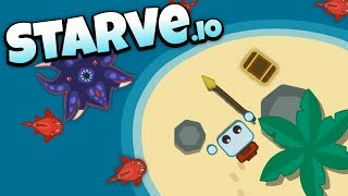 Starve.io - Hunting Pirate Treasure! - Let's Play Starve.io Gameplay