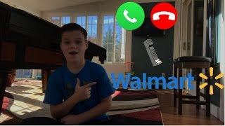 PRANK CALLING WALMART ABOUT BUILDING A TOILET PAPER FORT!!!