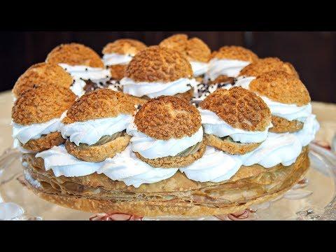 Торт «Сент-Оноре» (Saint Honore) пошаговый рецепт вкусного французского торта! – Коллекция Рецептов