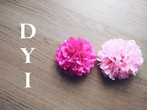 Diy tissue paper flower tutorial simple and easy tutorial how to diy tissue paper flower tutorial simple and easy tutorial how to make tiny tissue paper flowers mightylinksfo