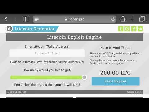 Free Litecoin Generator - SCAM? - YouTube