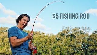 $25 Kmart Fishing Challenge! Nick vs Brooke (Saltwater Edition)