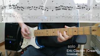 Eric Clapton - Crossroads (tab)
