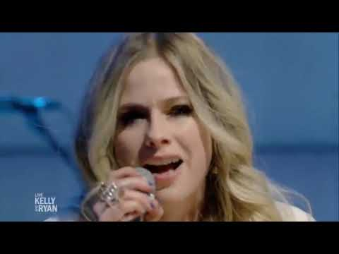 Avril Lavigne-Head Above Water Live Kelly and Ryan