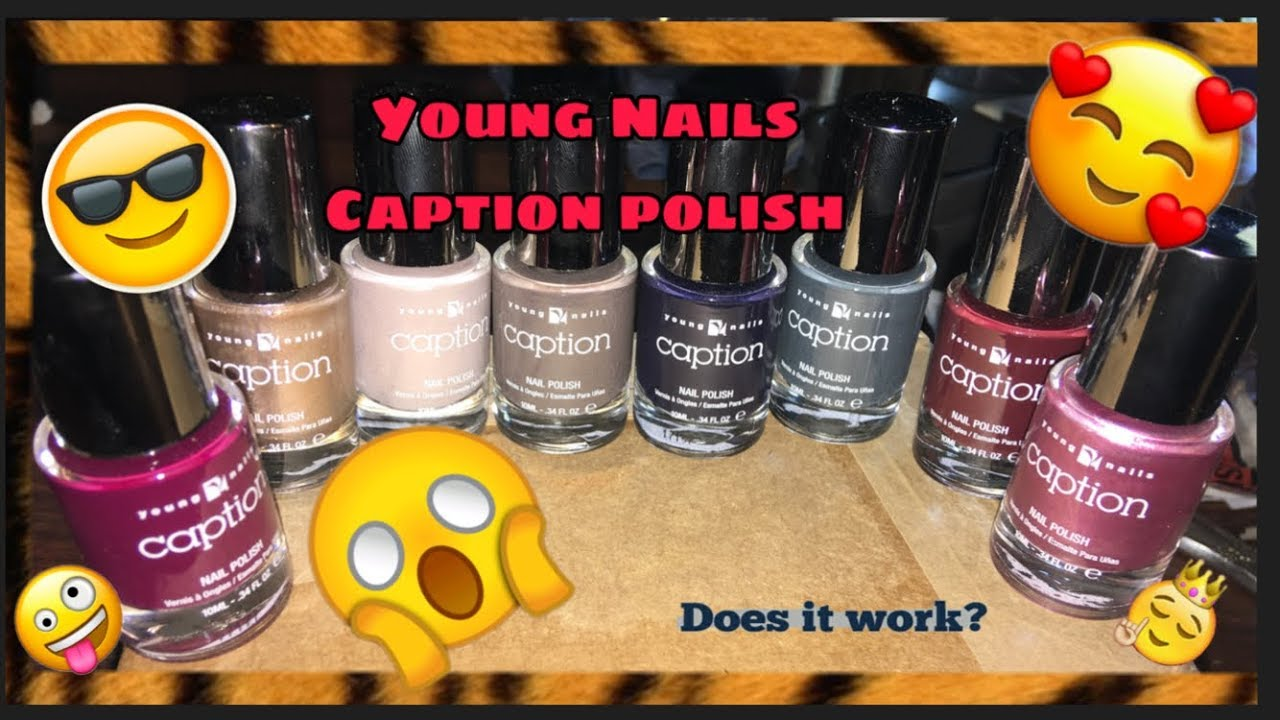 Young Nails Caption polish stamping review. ❤ - YouTube
