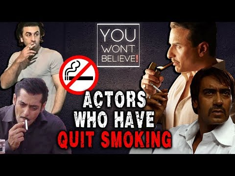 Actors Who Have Stopped Smoking | Aamir Khan, Salman Khan, Saif Ali Khan, Ranbir Kapoor Mp3
