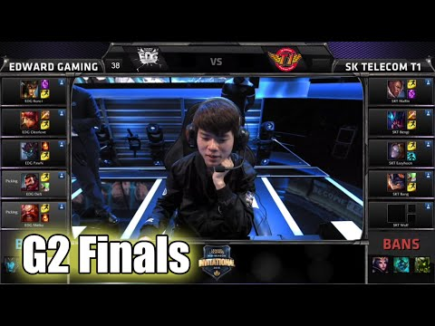 SK Telecom T1 vs Edward Gaming | Game 2 Grand Finals Mid Season Invitational 2015 | SKT vs EDG G2