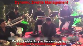 Indian Instrumental Bollywood Musicians, Orchestra Band Live for Wedding Sangeet Receiption