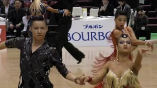 Quarter final. Sota Fujii and Ami Yoshikawa (Japan), both of them a...