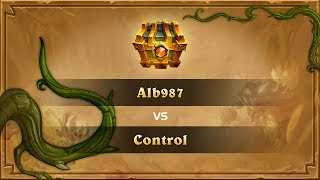 Alb987 vs Control, Final, Hearthstone Wild Open