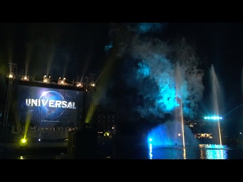 Universal's Cinematic Spectacular 4K ULTRA HD FULL SHOW w/ Pre-Show Music, Universal Orlando