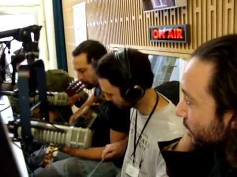 The Raw Men Empire live @ Radio Wave (Praha)