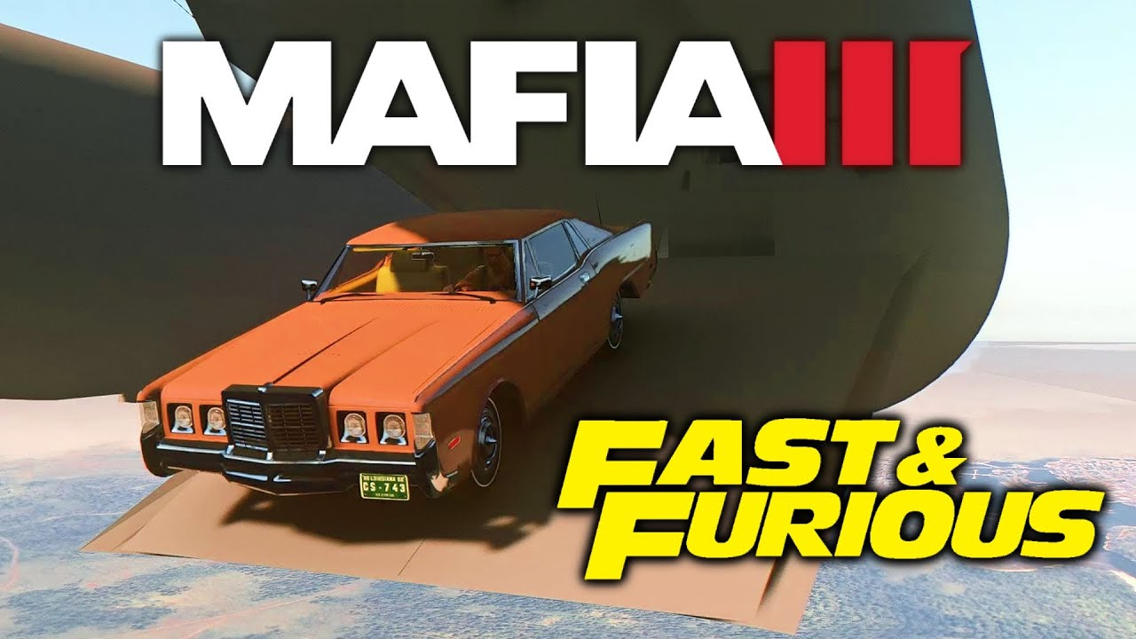 Mafia 3 Jumping Out of Plane (Fast & Furious Edition)