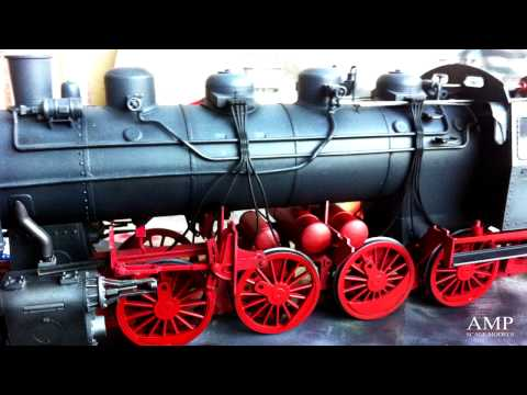 Train Scale Model Build 1/35 BR86 Locomotive