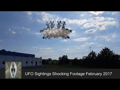 UFO Sightings Shocking Footage February 23rd 2017