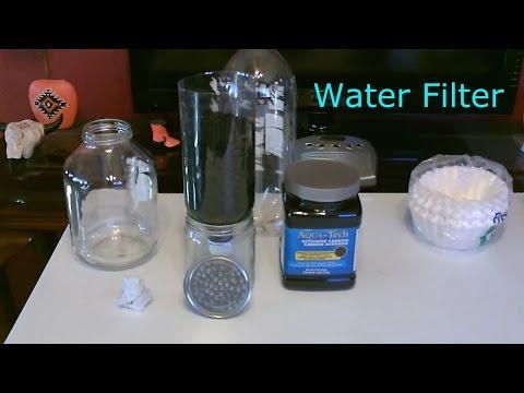 DIY Water Filter - Homemade
