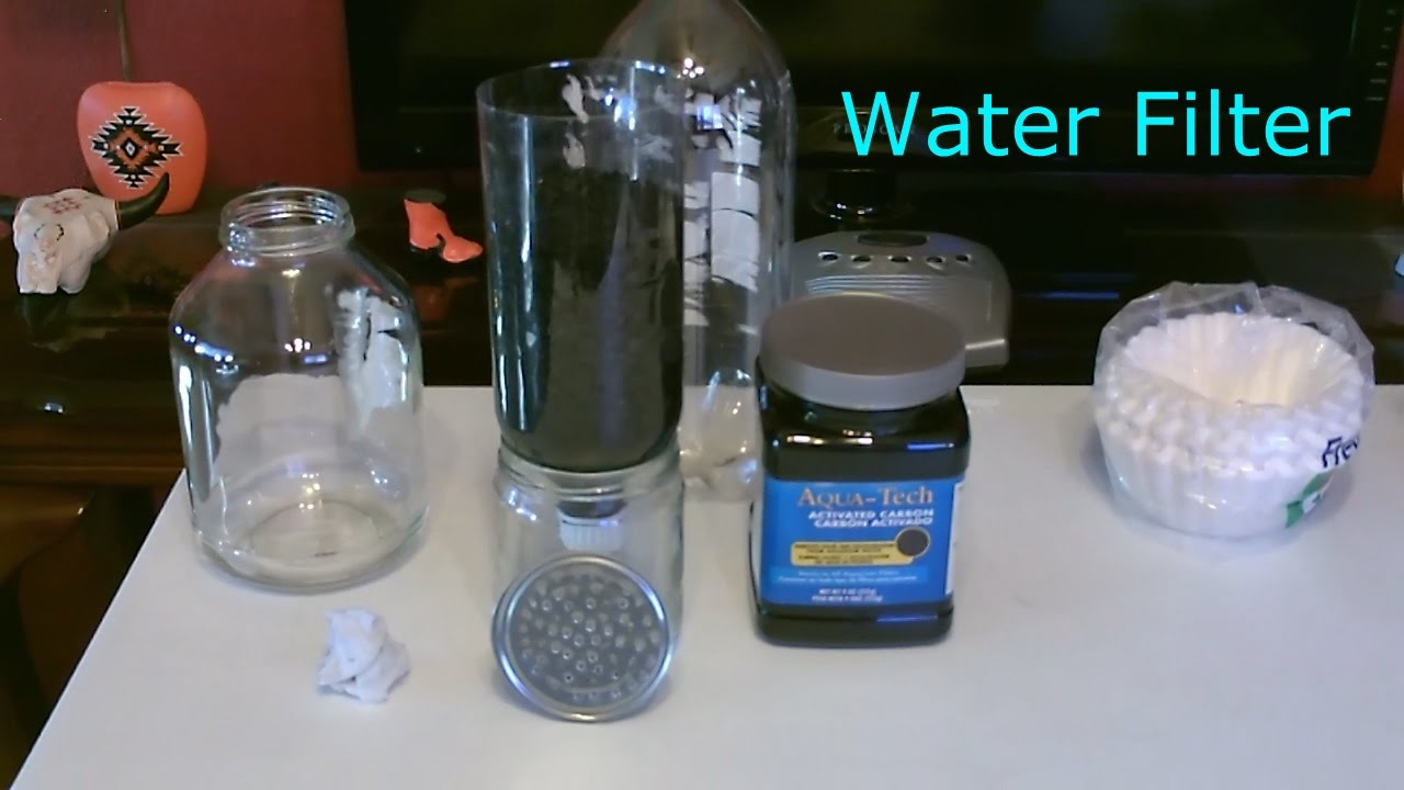 DIY Water Filter - Homemade \
