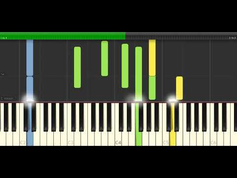 Hari ini, Esok dan Seterusnya - Piano [Syn]