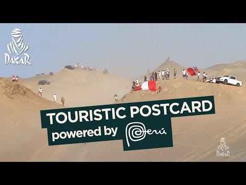 Touristic postcard - Stage 4 (San Juan de Marcona / San Juan de Marcona) - Dakar 2018
