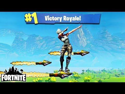 CRAZY ROCKET RIDE WIN! - Fortnite Funny Fails And WTF Moments! #62 (Daily Best Moments)