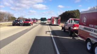 raw video officials respond to chemical spill on i 90 39