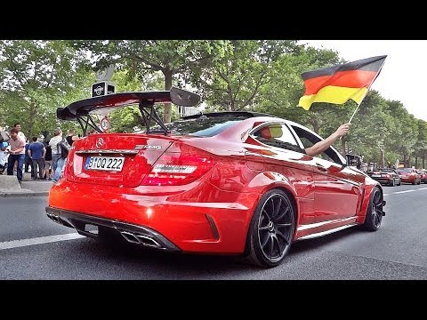 WM 2014 Autokorso Berlin °Best Supercar Sounds°