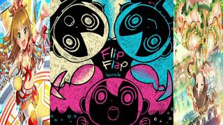 Flip Flopを三連符に合わせてマッシュアップする動画
