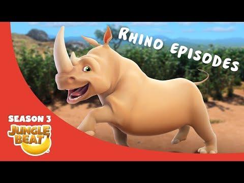 Rowdy Rhino  – JB S3 Animal Compilation #10