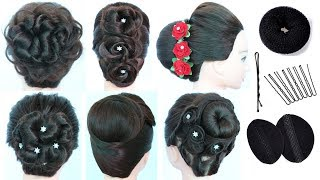 6 tricky hairstyles in few minutes || quick hairstyles || simple hairstyle || trending hairstyle