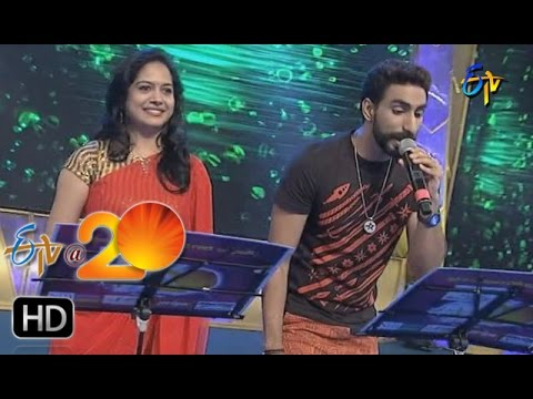 Sunitha,Karunya Performance - Panchadara Bomma Song in Anantapur ETV @ 20 Celebrations