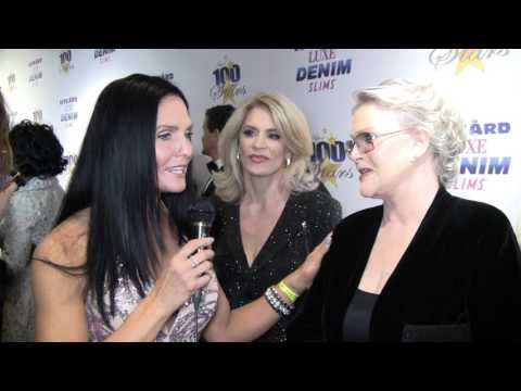 Traci Lynn Cowan With Actress Sharon Gless