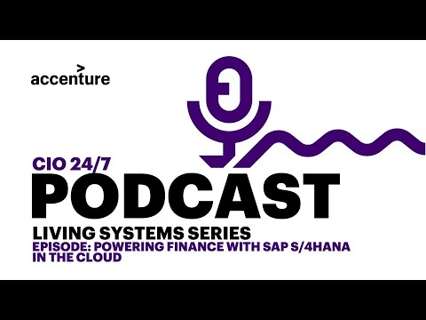 Living Systems: Powering Finance with SAP S/4HANA in the Cloud