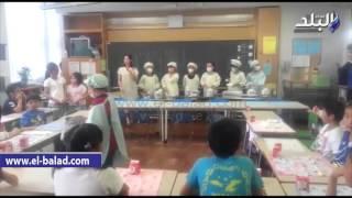 بالفيديووالصور.. في اليابان.. المدرسة «الحكومية» البداية الحقيقية لجيل متقدم.. تطبيق مناهج تناسب العمر العقلي للطفل