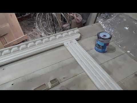 Изготовление оконных наличников из дерева / DIY Door Window