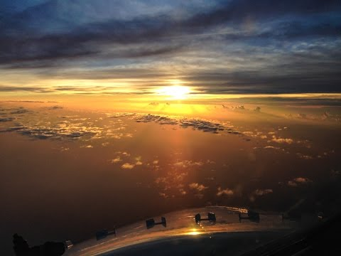 What do airline pilots do enroute?