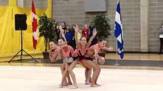 trillium rhythmic 2015 junior group 5 ball national junior group